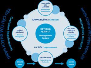 Các nguyên tắc của quản lý chất lượng